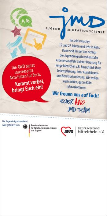 AWO Mittelrhein – Fachdienst Migration und Integration – JMD - Jugendmigrationsdienst